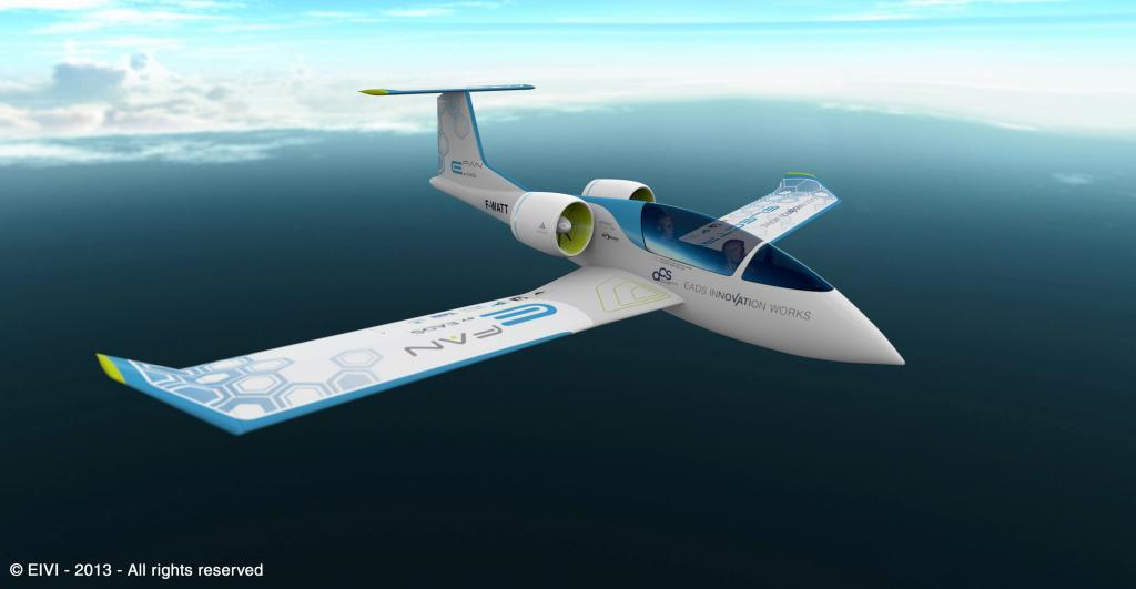 Electronic Airbus built two seater aeroplaine, currently in service as a training aircraft