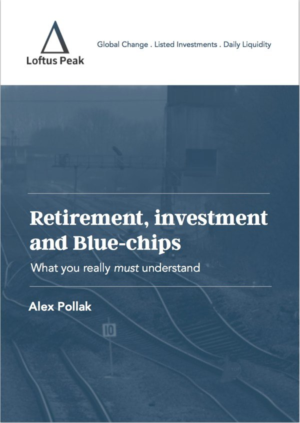 Retirement Investment and blue chips ebook